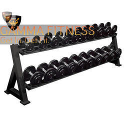 Black Dumbbell Racks