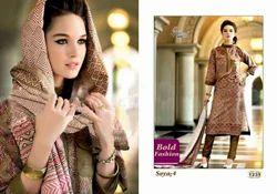 Soya Vol No-4 Printed Designer Salwar Kameez