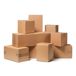 Brown Corrugated Packing Boxes
