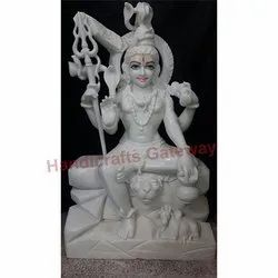 Indian Marble Lord Shiva Statue
