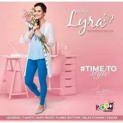 Cotton Straight Fit Lyra Leggings