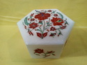 Home Decorative Marble Inlay Boxes