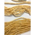 8 mm Yellow Calcite Bead