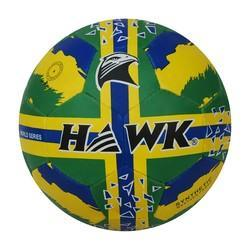 Soccerball Rubberized Hawk G/Y/B