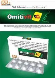 Ginseng 42.5 Mg Ginkgo 10Mg Green Tea Extract 15 Mg Garlic Powder 2Mg  Guggul