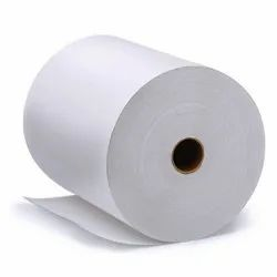 Deeploy's Wood Pulp White Kraft Paper Roll, GSM: 80 - 120 GSM