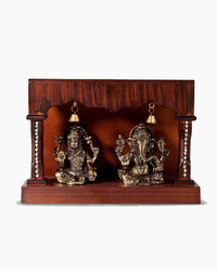 Lakshmi And Ganesh Brass Statue