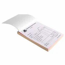 Paper Bill Book Printing Service, In Local