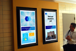 Wall Mount Digital Display Signages