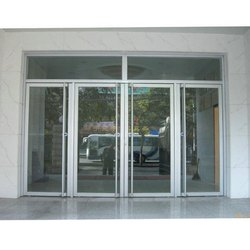 Hinged Aluminium Glass Door