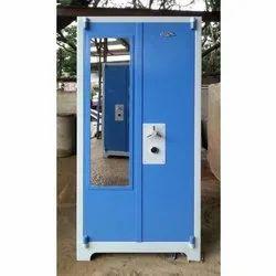 Samerika Blue Durable Steel Almirah, For Home