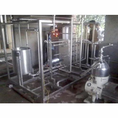 Mini Milk Processing Plants Capacity 500 Litres Hr Rs