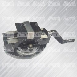 Bharat Steel Self Centering Vice, Base Type: Fixed, Model Name/Number: Scv
