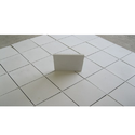 Half Concrete Roof Tiles White Feet