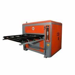 Semi Automatic Brush Plywood Sanding Machine