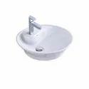 Plain Ceramic Table Top Wash Basin