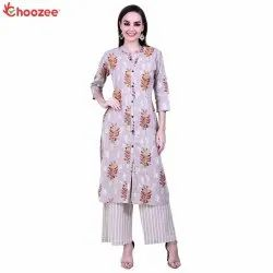 Gorgy Embroidered Kurta with Palazzo