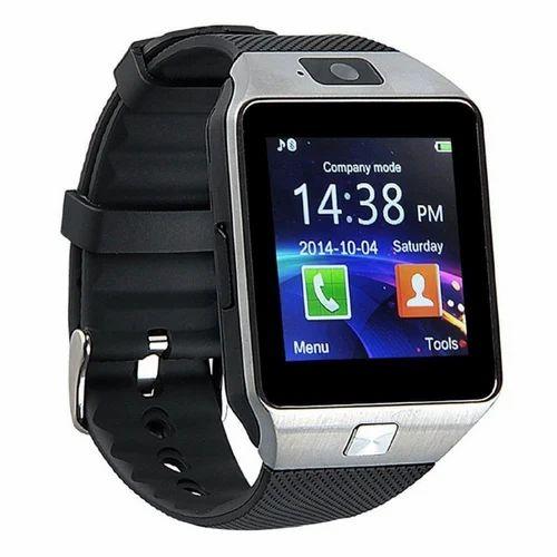Black Men Dz09 Smart Watch Rs 450 Piece Seema S Enterprises Id
