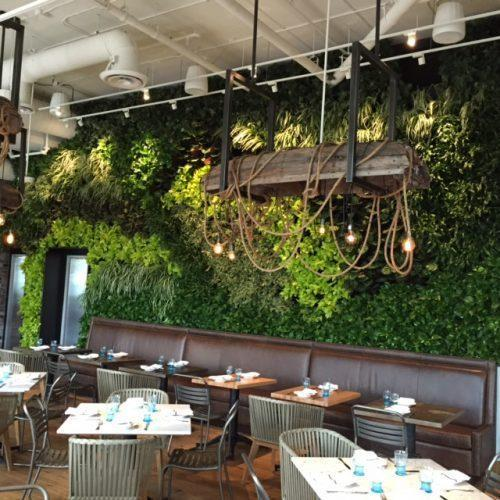 Commercial Walls Landscape Design: Artificial Hotel Green Wall At Rs 250 /square Feet