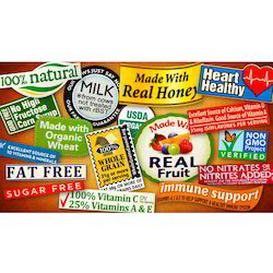 Food Industry Labels