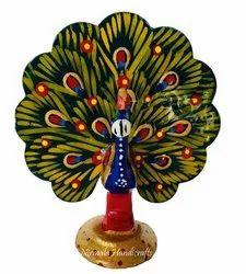 Metal Dancing Peacock
