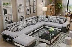 U-Shape Fabric Sofa 14 Seater