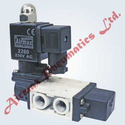 Airmax Air RM Series 3/2 Single Solenoid Valve, Operating Temperature Range: 80 C