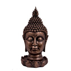 FRP Buddha Face on Lotus