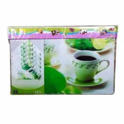 PVC Dining Table Mat With Coasters