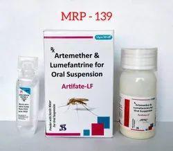 Artifate-LF Artemether & Lumefantrine For Oral Suspension, Stenroz Biotech