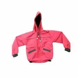 Casual Wear Pink Kids Jacket, Small