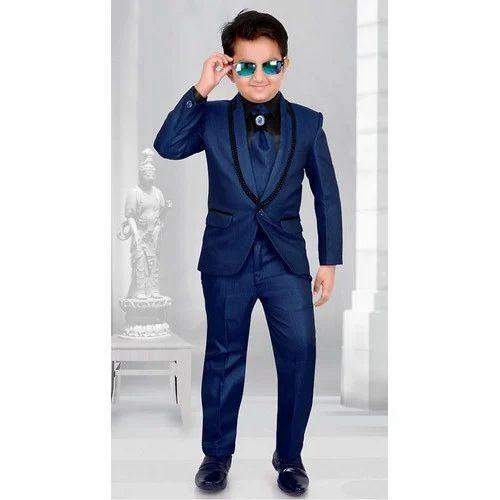d7519f4db Boys Polyester Full Suit