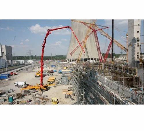 SKS Engineers Ready Mix Concrete Pump, Sks Engineers & Erectors | ID