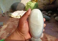 White Amarnath Narmadeshwar Shivling