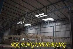 STEEL BUILDING STRUCTURE WORK