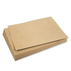 Brown 250 GSM Packaging Kraft Paper Sheet, Packaging Type: Packet