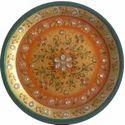 Non Toxic Color Round Designer Marble Plate