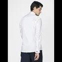 Green Hill Men's Designer White Grey  Shirt