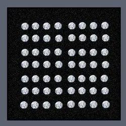 Lab Grown Diamond 0.80mm To 1.20mm GHI VVS VS Round Brilliant Cut HPHT