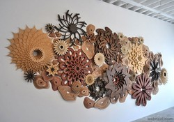 Wall Sculptures, Size/Dimension: 2.5/2.5 Ft
