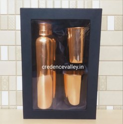 Copper Bottle Gift Set