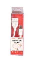 Electric Intex C Type Otg Cable Dc-402 - White