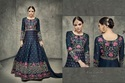 Tussar Silk Embroidered Party Wear Gowns