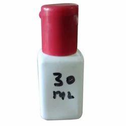 White 30 Ml Square Bottle
