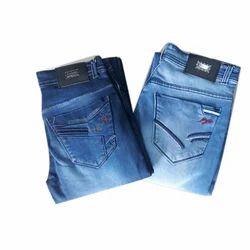 Denim Plain Casual Trendy Jeans