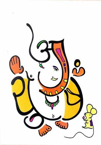 Akshar Ganesh Name Snehal