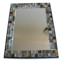 Decorative Glass Mirror, Thickness: 2-5 Mm
