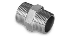 1/2 inch Threaded Hex Nipple, For Plumbing Pipe