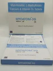 Myo-Inositol, L-Methylfolate Calcium and Vitamin D3 Tablets