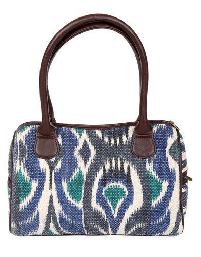 ffe8c975f2 Rajrang And Off White Hand Block Printed Handbag